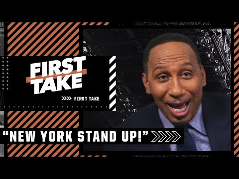 'New York Stand Up!' - Stephen A. says the Knicks will make it out of the first round   First Take