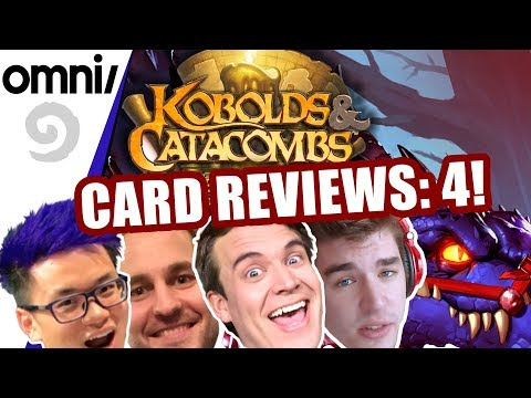 Omni/Stone Kobolds & Catacombs Card Review pt. 4 w/ Brian Kibler, Firebat, Zalae & Frodan
