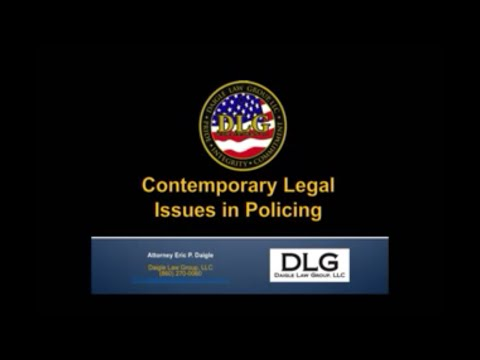 2013-2014 Contemporary Legal Issues for Law Enforcement Update