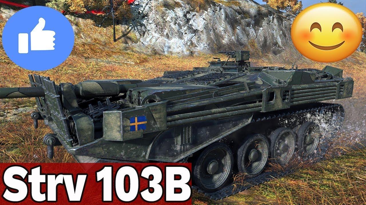 REWELACYJNY 10 TIER  – STRV 103B – World of Tanks