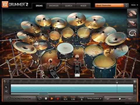 Slipknot - Dead Memories (en EZDrummer) | Drums only
