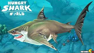 GREAT WHITE SHARK Unlocked Next Up Megalodon Shark - Hungry Shark World