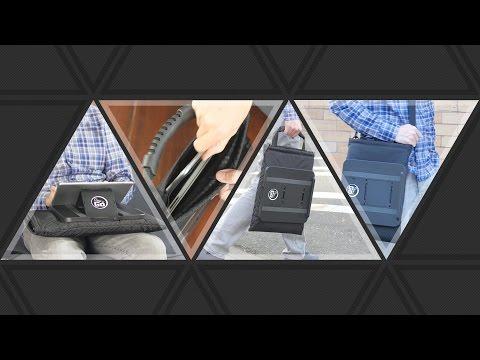 Laptrap Compact Laptop Case And Mobile Desk Doovi