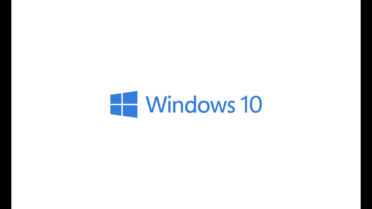 Windows 10 Logo Animation