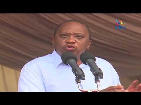 President Uhuru Kenyatta 'tired of politics' urges leaders to focus on development