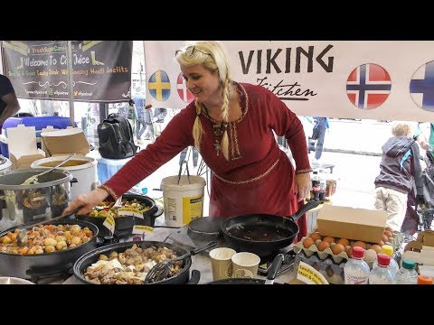 Viking Kitchen. Food from Scandinavia Tasted in London. World Street Food