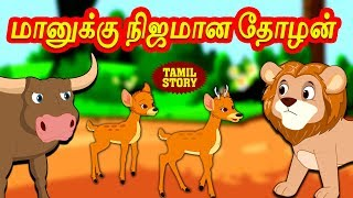 Tamil Moral Stories for Kids - மானுக்கு நிஜமான தோழன் | Short Stories | Tamil Stories | Koo Koo TV
