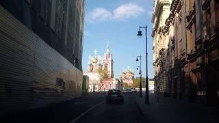 . Москва-Варварка. Поездка по городу на автомобиле