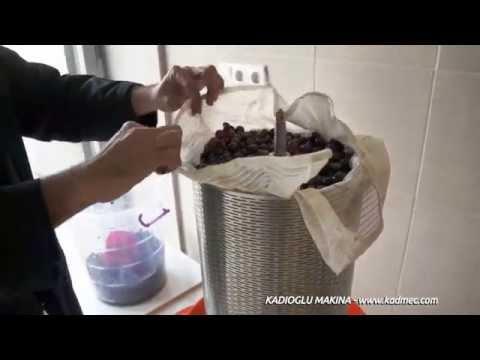 Balonlu Pres - Doğal Üzüm Gilaburu Elma Nar Suyu Için Sikma Makinasi