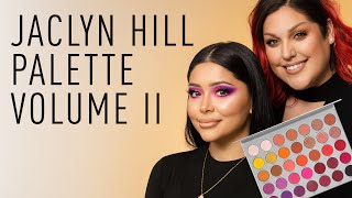 Jaclyn Hill Palette V2 ft. @Lipsticknick  and @Daisy Marquez