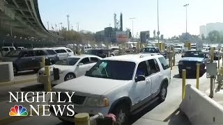 NBC Nightly News Visits The Busiest Land Border Crossing In The World | NBC Nightly News