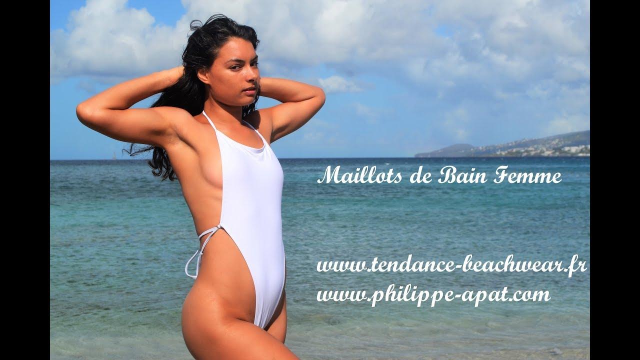 09c7b4ae5e String Monokini Maillot de bain string blanc 1 pièce 2019   Tendance ...