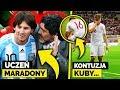 Maradona uczył Messiego RZUTÓW WOLNYCH! Kontuzja Kuby Błaszczykowskiego w meczu Polska - Austria