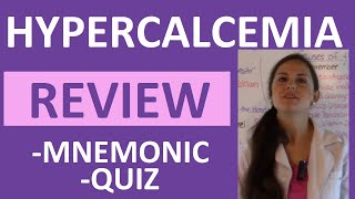 Fluid & Electrolytes Nursing Students Hypercalcemia Made Easy NCLEX Review