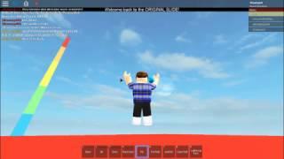 ROBLOX/Slide Down One Million Feet In ROBLOX/Shawnyp00