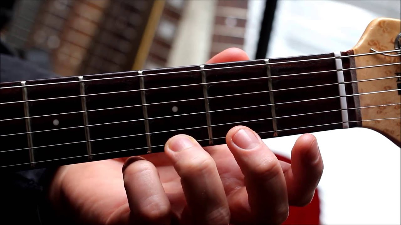 One Finger G Major Chord Youtube