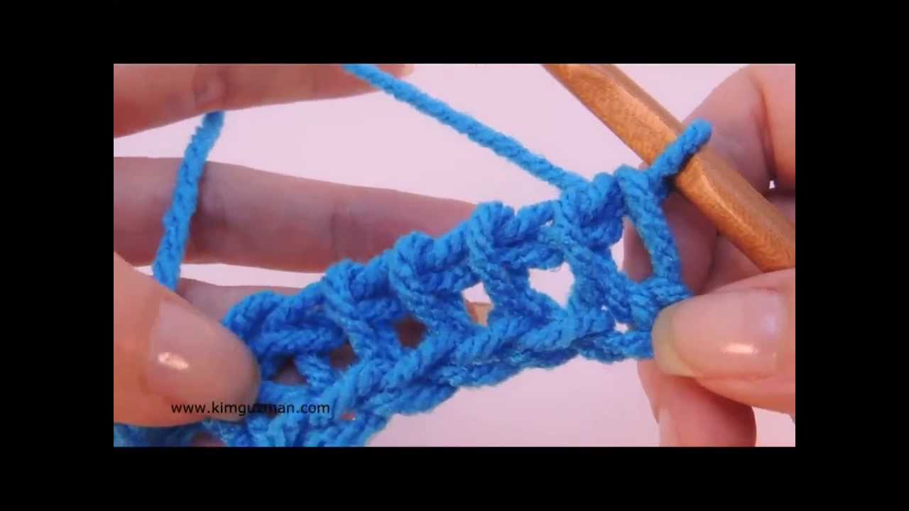 Tunisian Crochet: Purl Stitch - YouTube