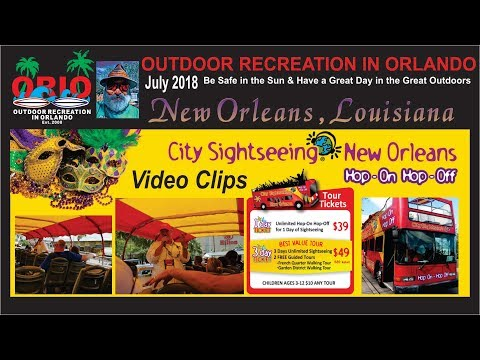Hop-On Hop-Off New Orleans Tour Video Clips