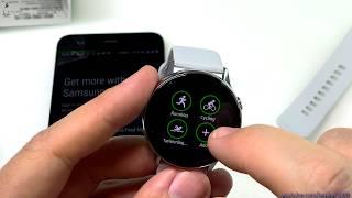 ГадЖеТы: достаем из коробки и настраиваем умные часы Samsung Galaxy Active Watch