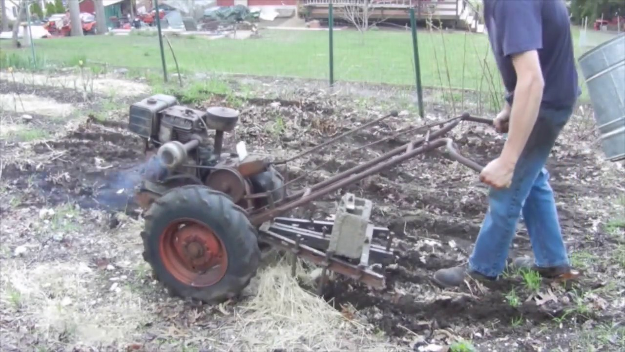 Walk Behind Tractor >> Estate Sale Find Simplicity Va Walk Behind Tractor