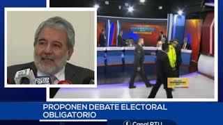 CNE PROPONE DEBATE OBLIGATORIO DE LOS CANDIDATOS A TERCIAR EN EL 2019