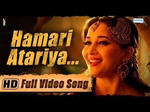 'Hamari Atariya' Full Video Song - Feat. Madhuri Dixit - Huma Qureshi - Dedh Ishqiya Exclusive - HD