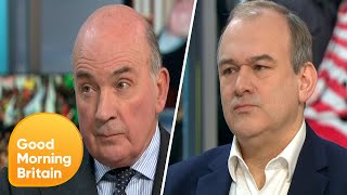 Piers Goes Head to Head With Ed Davey Over Trump's Actions in Iran | Good Morning Britain
