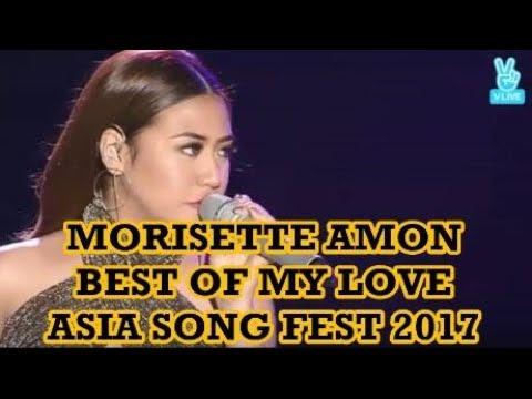 Morisette Amon Best of My Love   Asia Song Festival 2017 South Korea