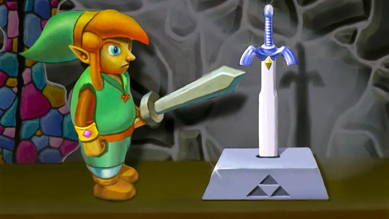 Ocarina Of Time 3d Wallpaper Legend Of Zelda A Link Between Worlds Stop Motion 3d