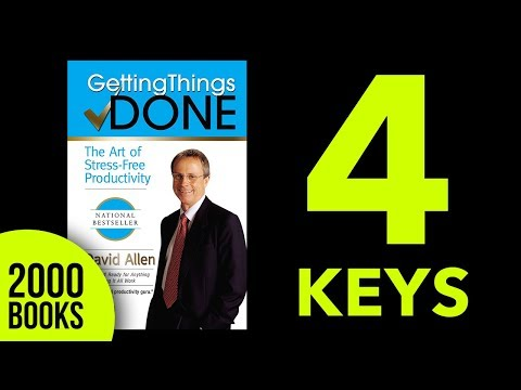 Getting Things Done Audiobook Key Ideas - David Allen