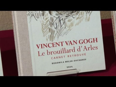 'Lost' Van Gogh notebook published amid experts row
