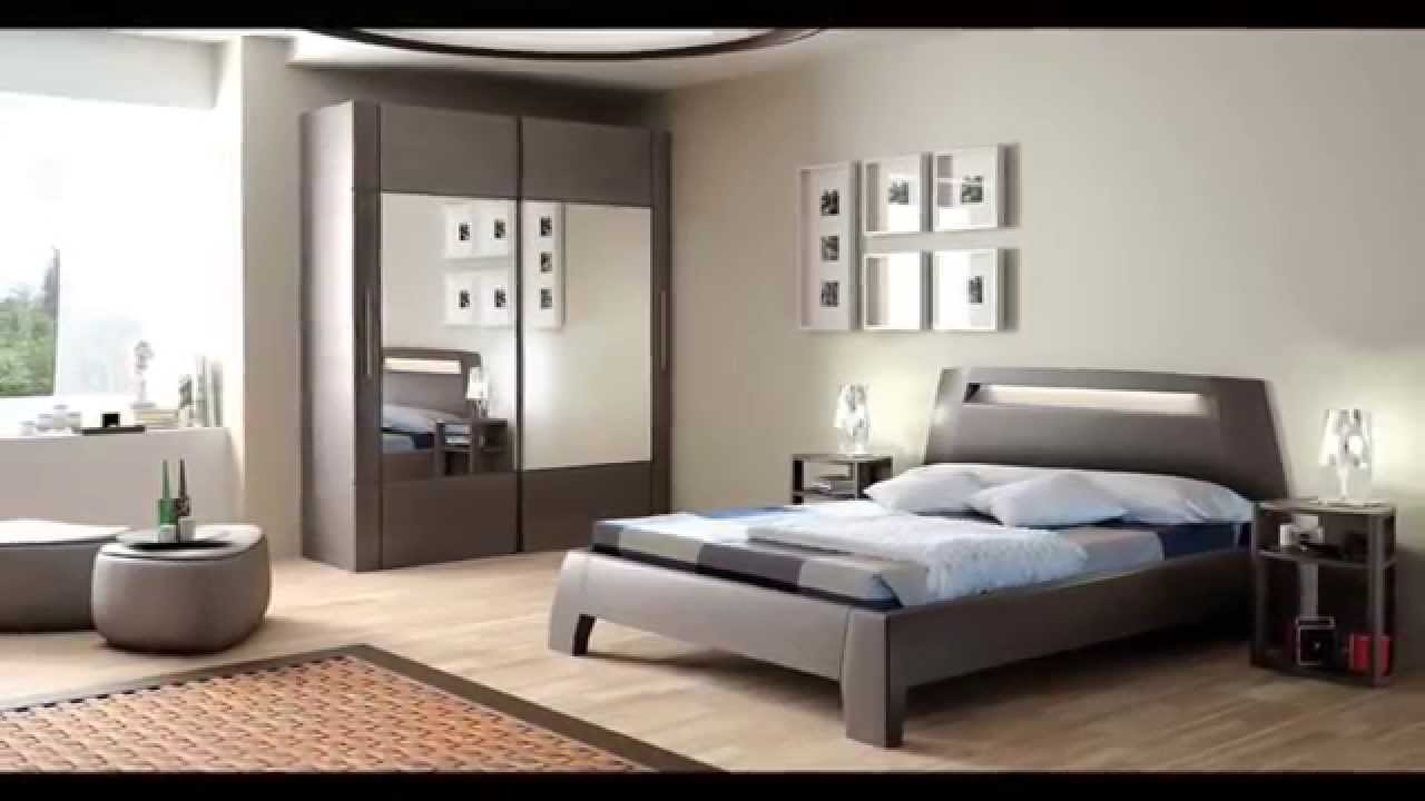 D coration chambre coucher youtube for Modele de decoration maison