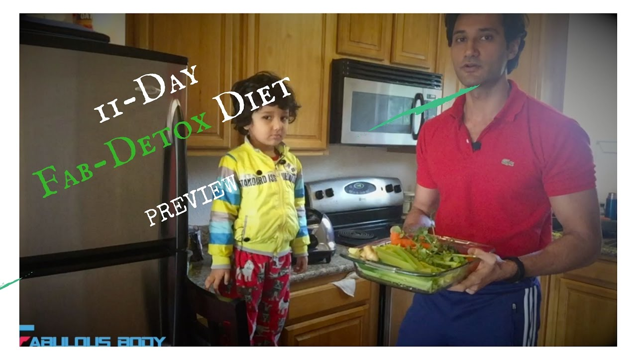 11-Day Detox Diet for Weight Loss-Fabulous Body