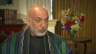 Blitzer & Karzai discuss Pakistan, Taliban, and U.S. ...