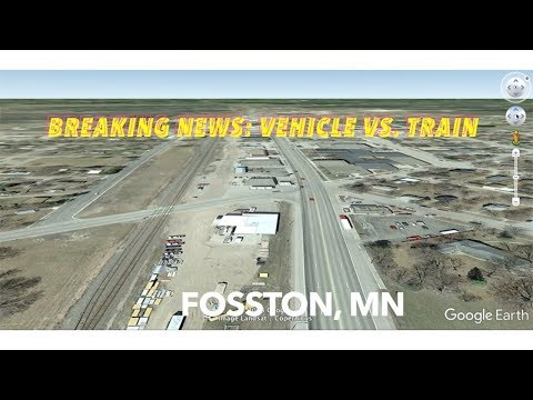 BREAKING NEWS: Vehicle-Train Accident In Fosston Minnesota