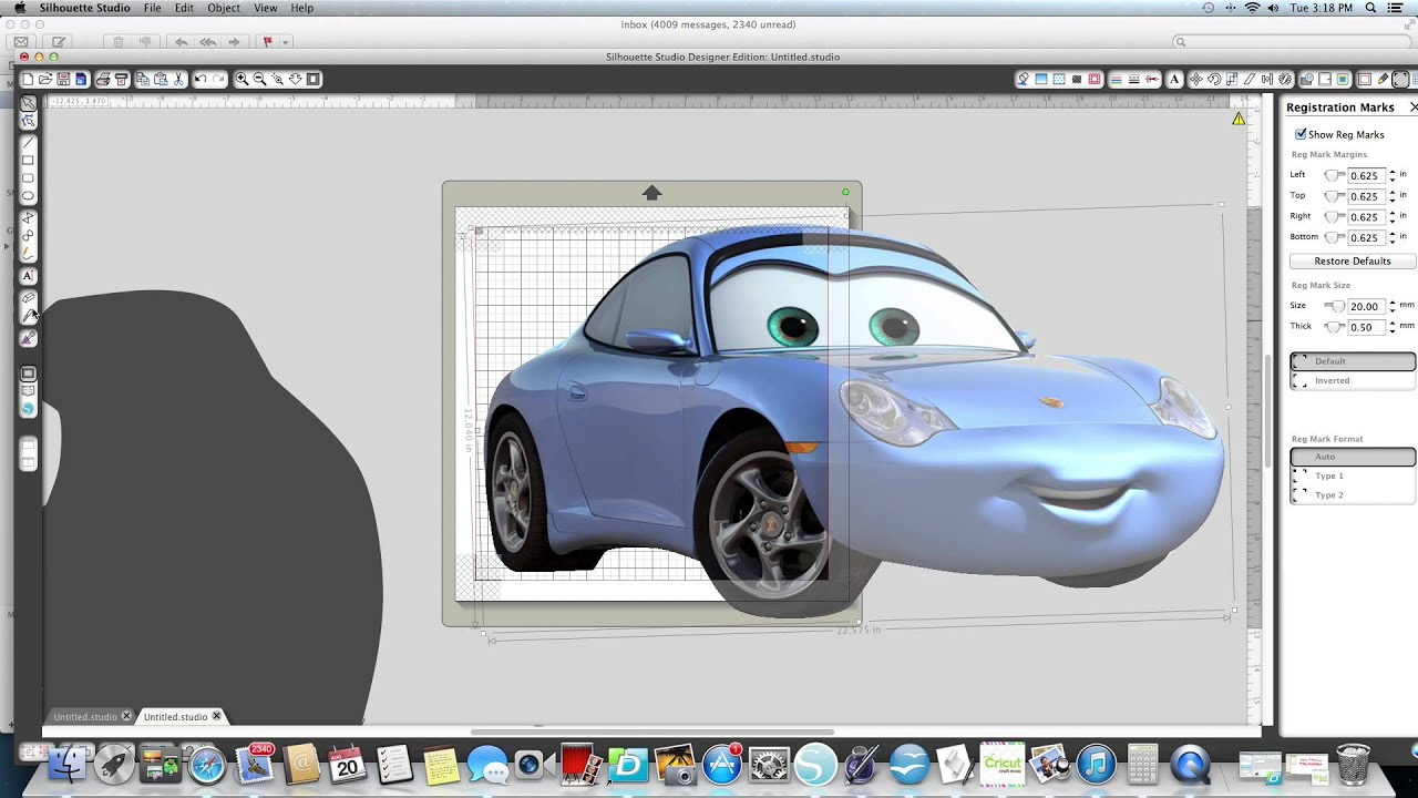 Cars For Less >> Pixar Cars video using your cameo Silhouette - YouTube