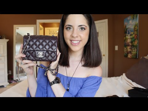 8fedab777a1e Chanel Square Mini Flap REVIEW ♡ - YouTube