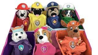 Juguetes paw patrol español:Bebes! regalo sorpresa de cachorros patrulla canina.Nuevo capitulo 2018