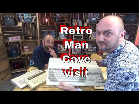 "DuB-EnG: A visit to ""Retro Man Cave"" - New Adventures in Old Technology"