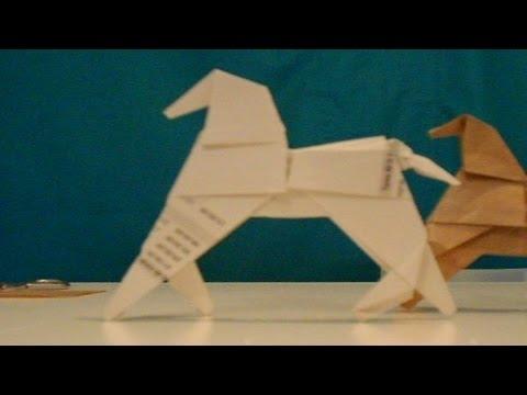 Como hacer un caballo de origami f cil y r pido youtube for Como aser un criadero de mojarras