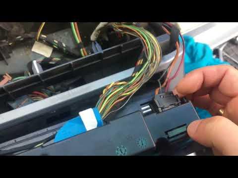 Замена моторчика печки bmw e53