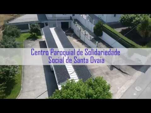 Centro Paroquial de Solidariedade Social de Santa Ovaia produz a sua própria energia
