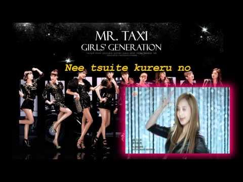 Mr Taxi - SNSD (Karaoke/Instrumental)
