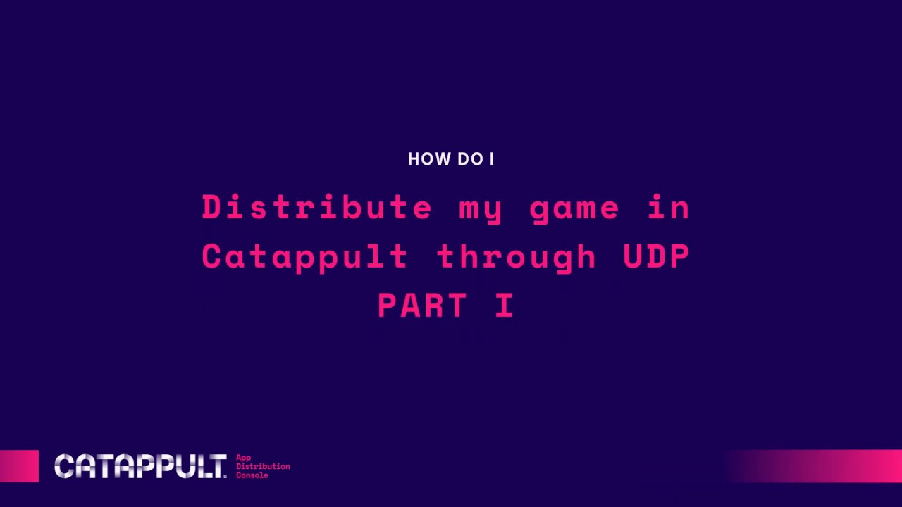 Submitting your game