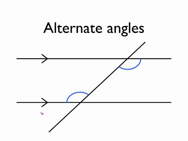 Angles Between Parallel Lines - Lessons - Tes Teach