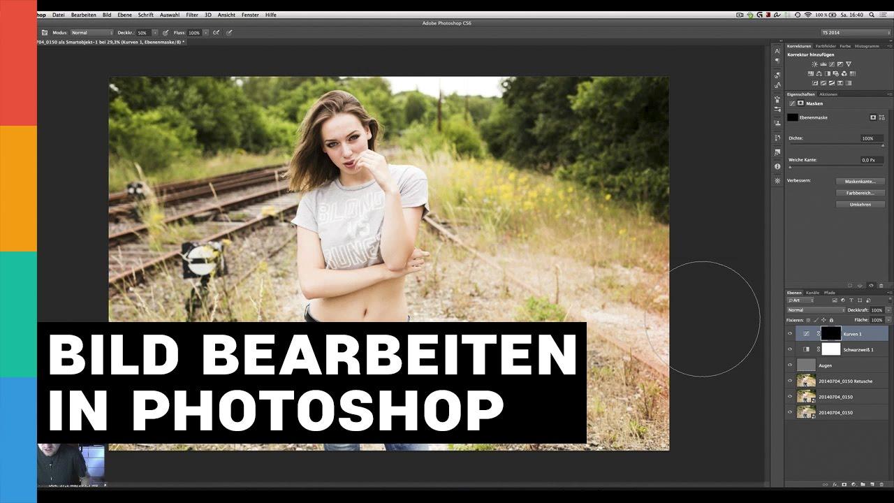 Photoshop bilder bearbeiten