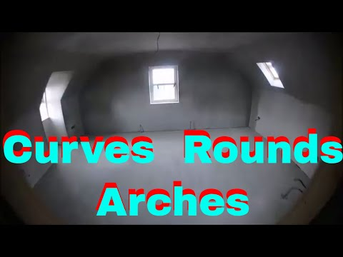 Plastering Chat On Round Curved Walls And Ceilings Barrel Ceilings Arches Ect Pos How To