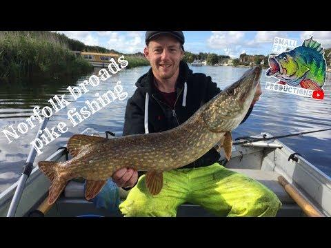 Norfolk Broads Pike Fishing Part 1