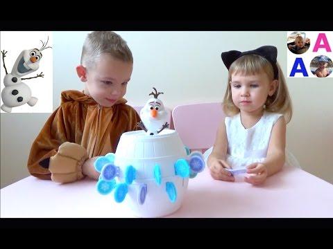 Челлендж Pop  Up Игра Холодное сердце Олаф Olaf Frozen