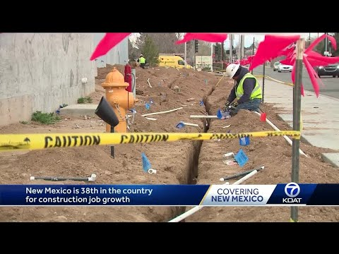 New Mexico Construction Job Growth
